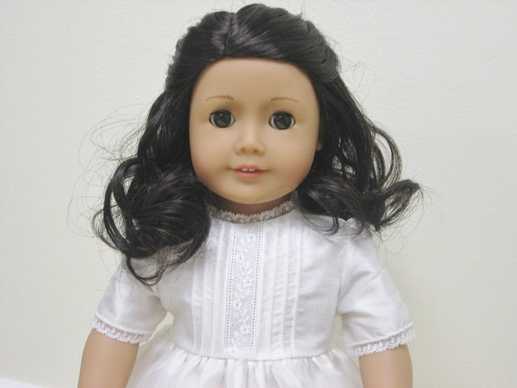 American Girl Size Doll Communion Dress to Coordinate w/ dress