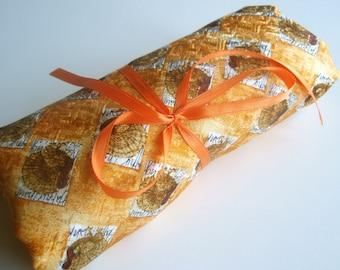 Golden Folk Italian Silk Fabric - 2.5 yard destash