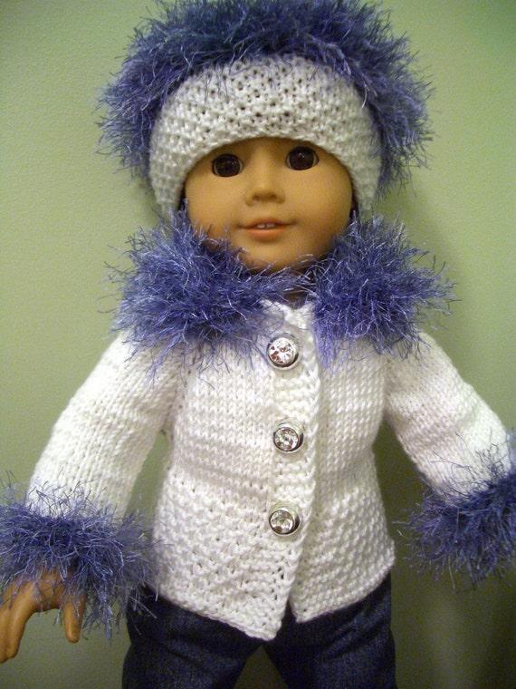 Knitting Pattern For Russian Dolls : KNITTING PATTERN for American Girl 18 inch DOLL Beginner ...