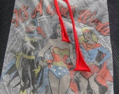 Wonder Woman Batgirl Supergirl large hobo bag