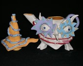 Crazy Eyed Teapot by Mark Switzer