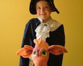 Giddy up Dragon sewing pattern for dragon toy, digital download