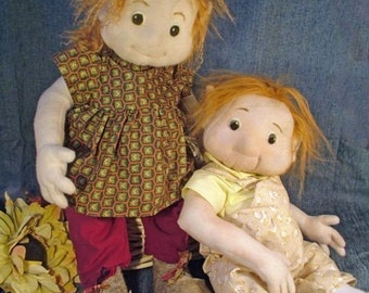 Gnome Babies, PDF sewing pattern