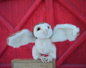 Hoot , Barn owl sewing pattern PDF, digital download