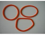 THIN bracelets - orange