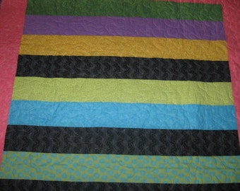 bright twin quilt