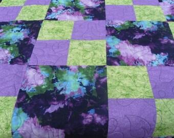 Purple beauty queen sized quilt