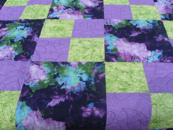 Purple beauty queen sized quilt