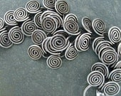 Egyptian Coil Sterling Silver Bracelet or Necklace