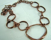 Recycled Copper Pipe Necklace