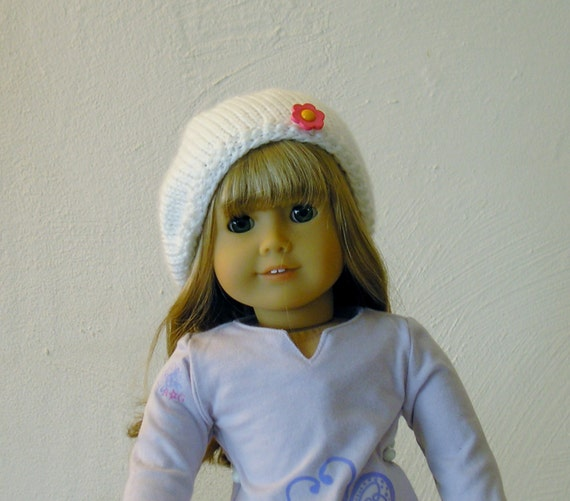 American Girl Doll Clothes - Hand Knitted Slouch Hat