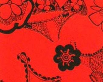 Frills in Red by Alexander Henry, yard