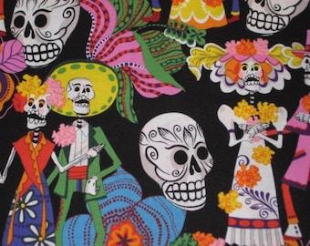 Alexander Henry Los Novios Day of Dead on black, yard