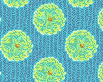 Amy Butler Fabric, Soul Blossoms, Delhi Blooms in Ocean