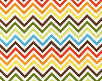 Remix Zig Zag stripe in Bermuda by Ann Kelle for Robert Kaufman - yard