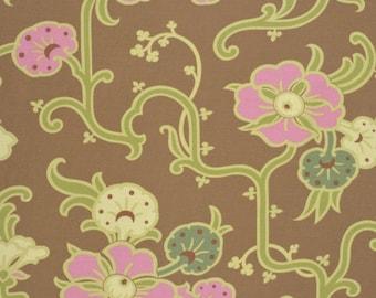 Amy Butler Fabric, Velvet Vines in Almond, Gypsy Caravan collection, yard