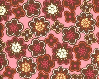 SALE  Erin McMorris  Flower Field in Pink.....Park Slope collection, yard
