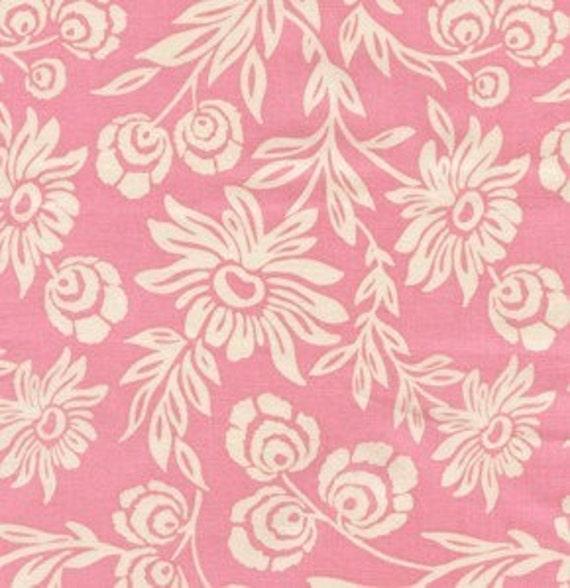 Joel Dewberry's Hand Picked Daisies in Pink, Modern Meadow -Half yard