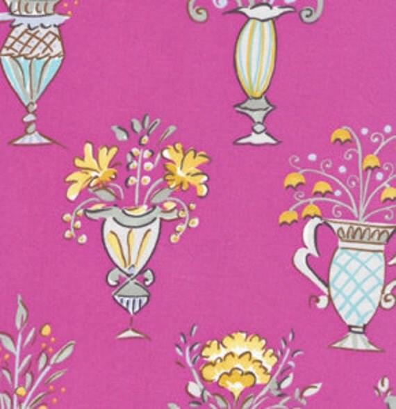 Tea garden by dena designs chai in fuschia for Dena designs tea garden fabric