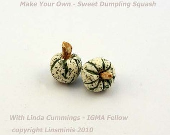 Make it Yourself - Sweet Dumpling Squash Tutorial PDF