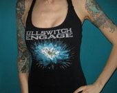 Killswitch Engage KSE halter top made from a salvaged shirt Medium