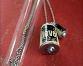 LOVE Cork Necklace UNCORKED In Test Tube
