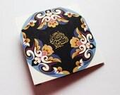 Mosaic Wedding Invitation - 2 folds