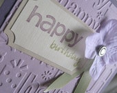 embossed happy birthday card for your best girl friends