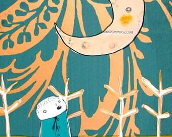 When the Moon Awoke - PRINT - various prints