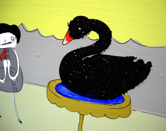 My Black Swan - PRINT - various sizes