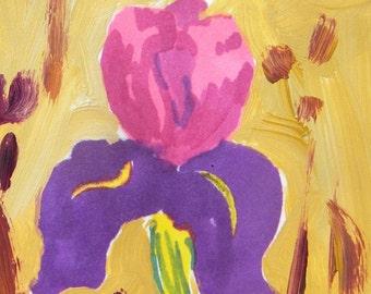 Bright Iris ACEO