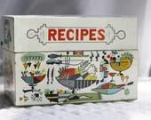 Vintage Recipe Tin Retro Kitchen Design