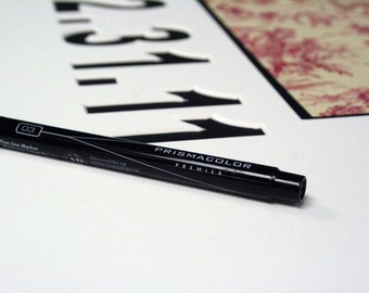Wedding / Event Signature Mat Personalized with date - Guest Book - custom colors - free pen - 18 x 24