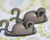 Dickory Dock The Mouse Stud Post Earrings
