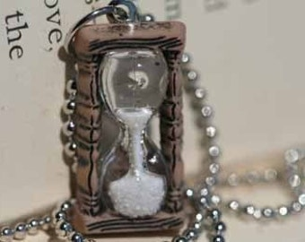 Sands Of Time Hourglass Necklace