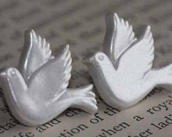 Lovebirds Stud Post Earrings
