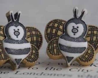 Beezley The Bumblebee Stud Post Earrings