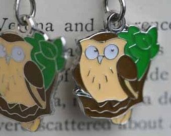 Hoot The Owl Dangle Earrings