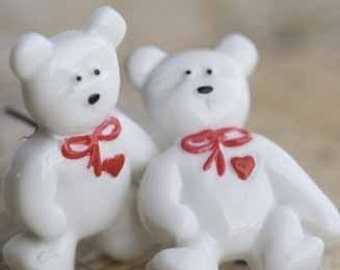 SALE SALE SALE I Love You Bear Stud Post Earrings