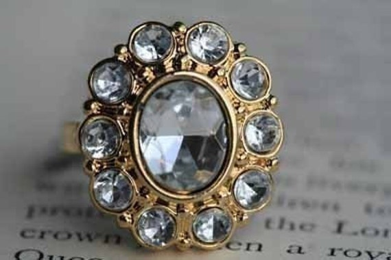 All That Glitters Ring