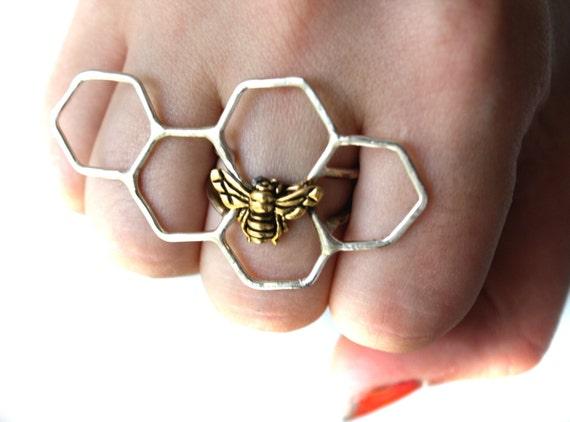 Sterling Silver Honey Knuckles II
