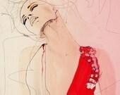 Atmosphere - Fashion Illustration Art Print // Limited Edition
