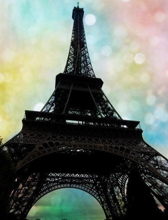 Eiffel Blush - Art Print