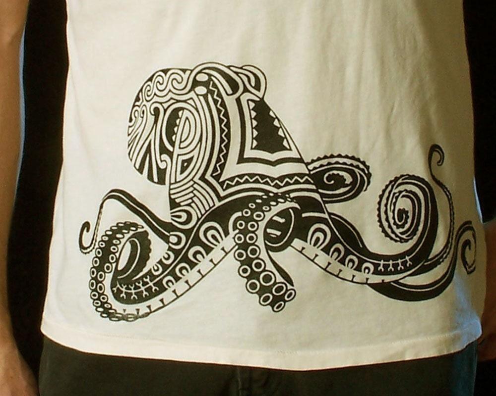 Shirt design octopus -  Zoom