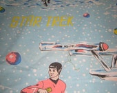 Star Trek flat bed sheet 1960's original show
