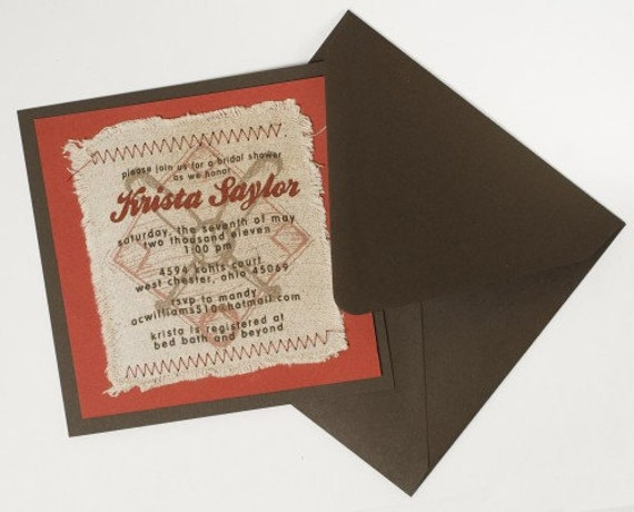 Luxury Vintage Baseball Invitations