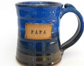 Custom Name Mug (TM), Personalized, Scratch Made Pottery by Mud Pie Studio