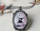 CAMEO Choker Alice in Wonderland Necklace Victorian Gothic