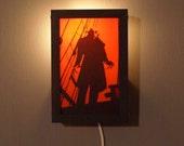 NOSFERATU wall-hanging lightbox max schreck vampire dracula