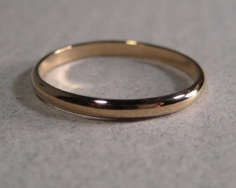 14 kt Yellow, White or Rose Gold Band ......  Ring or Stacking Ring ...